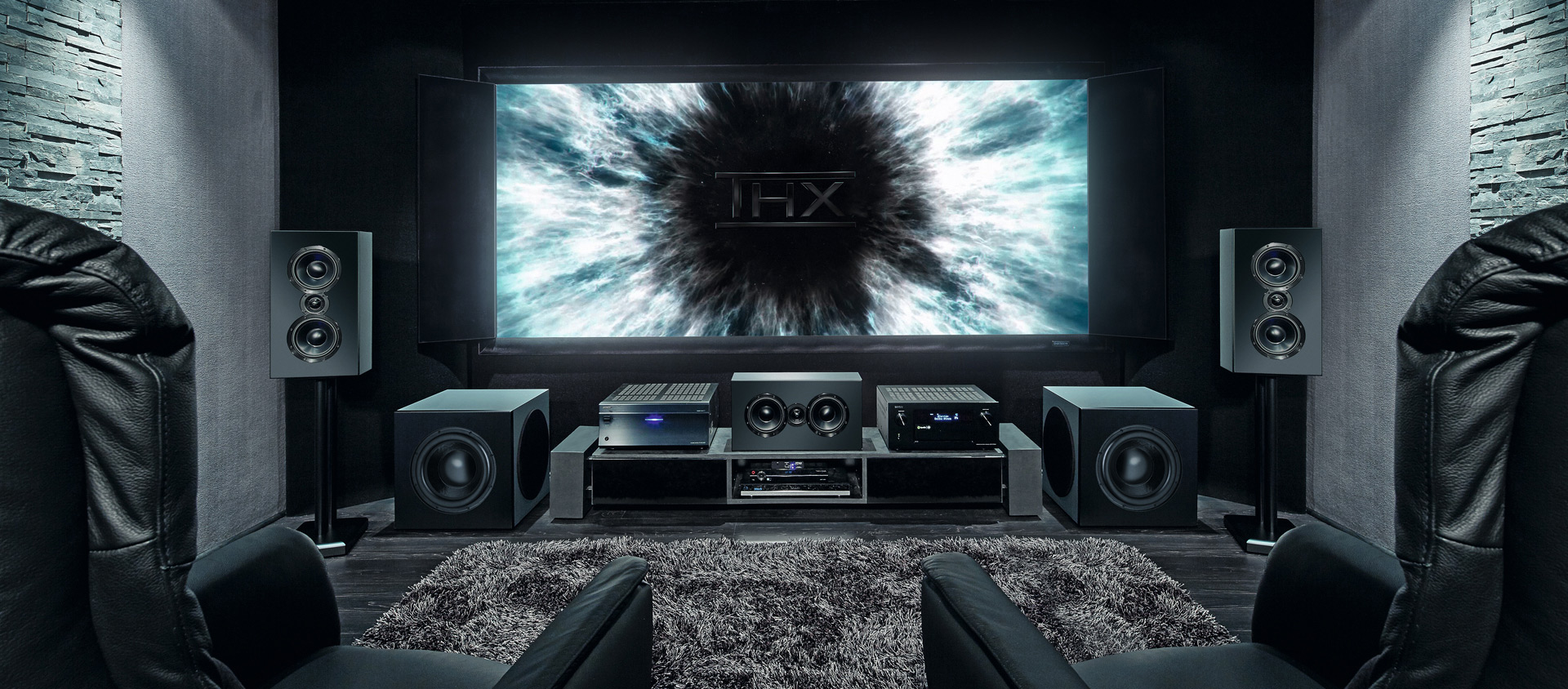 Cinema ultra home cinema hauptmen magnat the - Thx home cinema ...