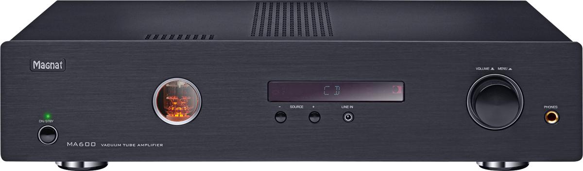 magnat ma600 amplificatore integrato ibrido valvolare. Black Bedroom Furniture Sets. Home Design Ideas